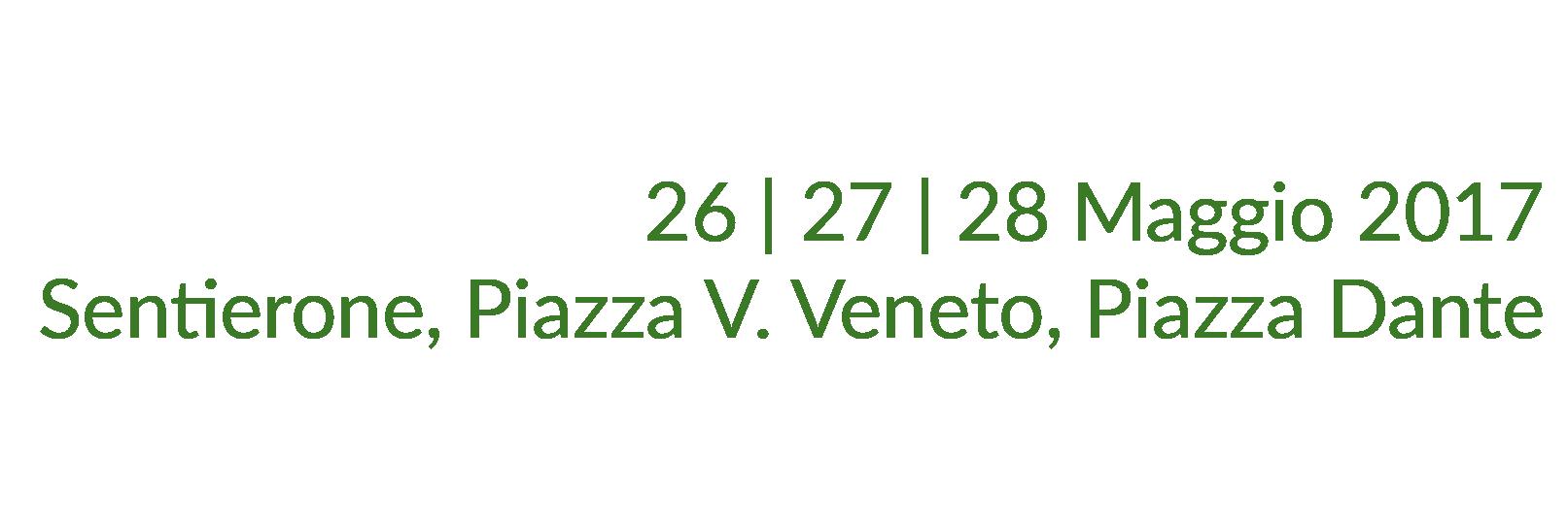 26 | 27 | 28 Maggio 2017